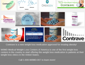Contrave for losing weight
