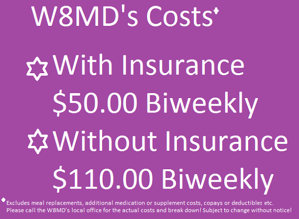 W8MD's weight loss program cost