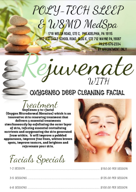 Oxygenio Oxygen Super Facials and Microdermabrasion