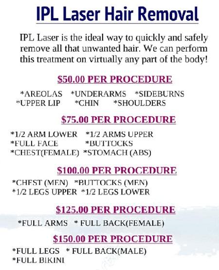 Hair reduction IPL Laser