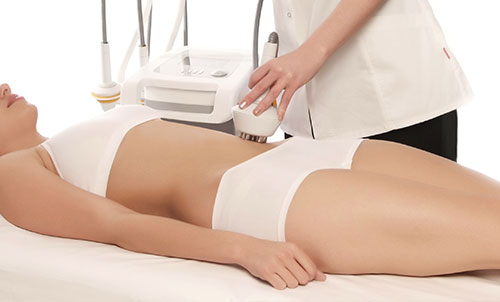 Body treatment with Radio Frequency RF